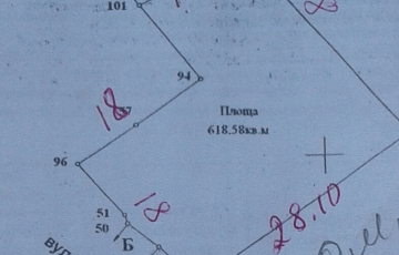 Участок 6 сот. госакт,  ул.Кузнецкая 122