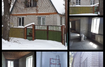 Продам дом п. Высокий, строительное состояние, 80 м2, 16 000 у.е.